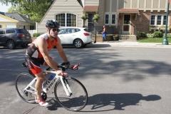 Ken on the bike