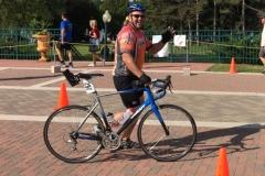 Matt with bike