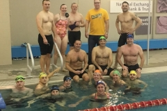 Redline winter swim workout